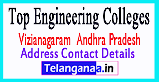 Top Engineering Colleges in Vizianagaram District Andhara Pradesh