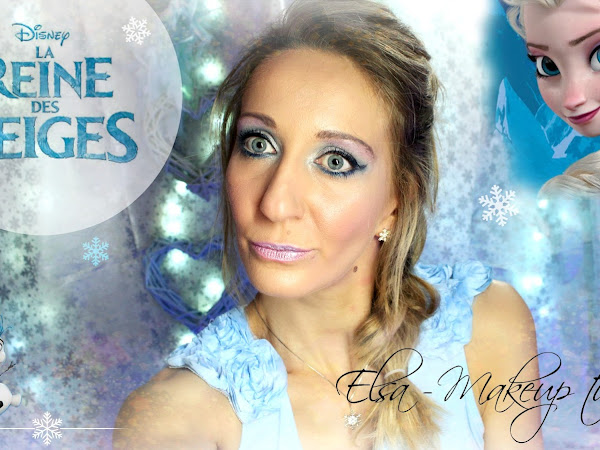 Makeup Elsa, La reine des neiges ❄︎ Disney