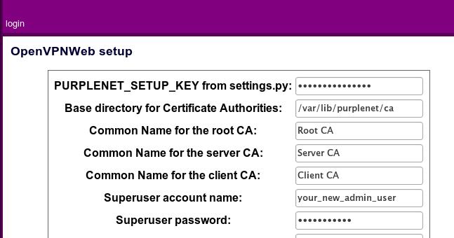Febru Wasono: install openvpn admin gui web base