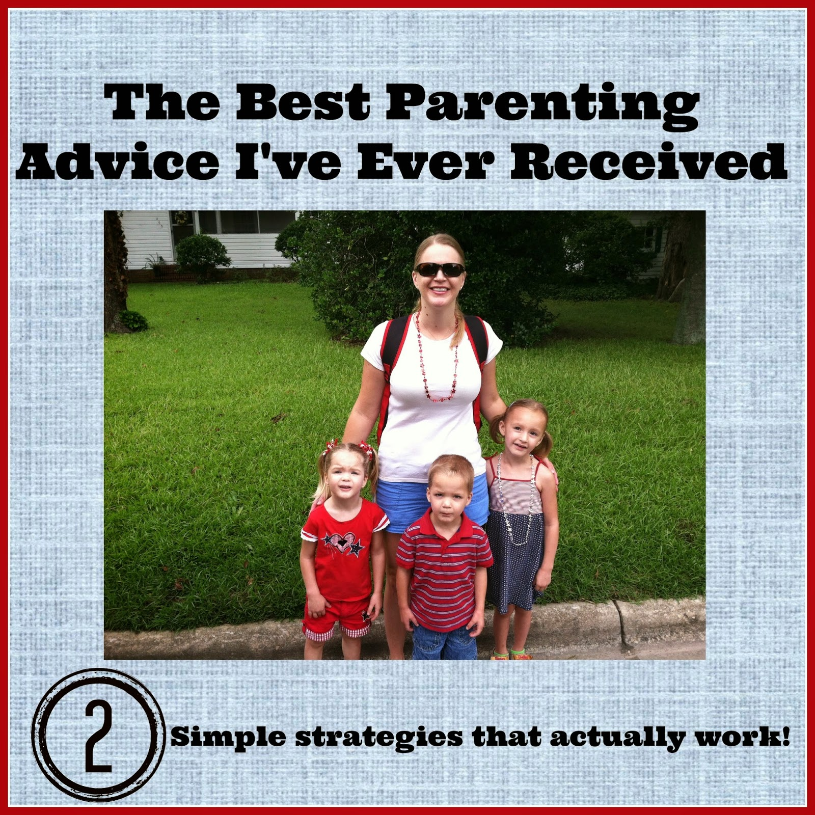 Twingle Mommmy: The Best Parenting Advice I Ever Got