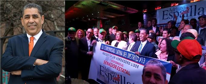 Espaillat resalta creciente apoyo a campaña para el congreso de EEUU y vaticina triunfo