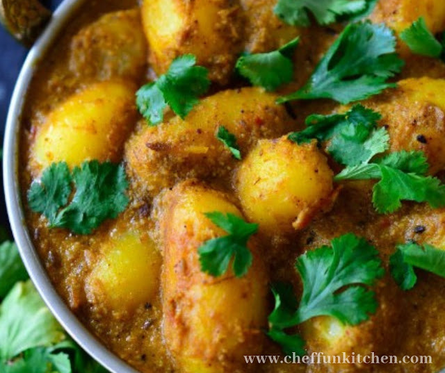 Spicy Vegan Potato Curry