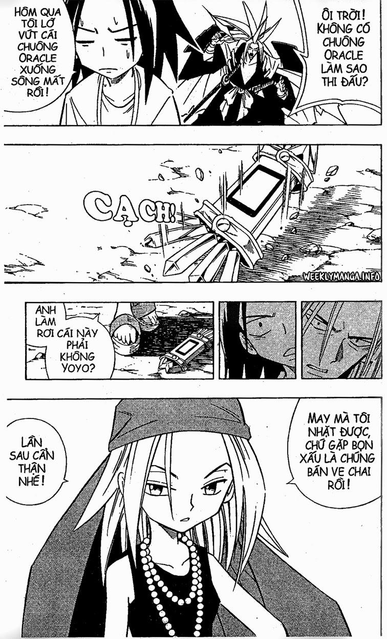 Shaman King [Vua pháp thuật] chap 210 trang 4