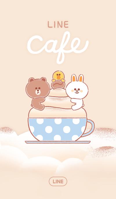 LINE カフェ