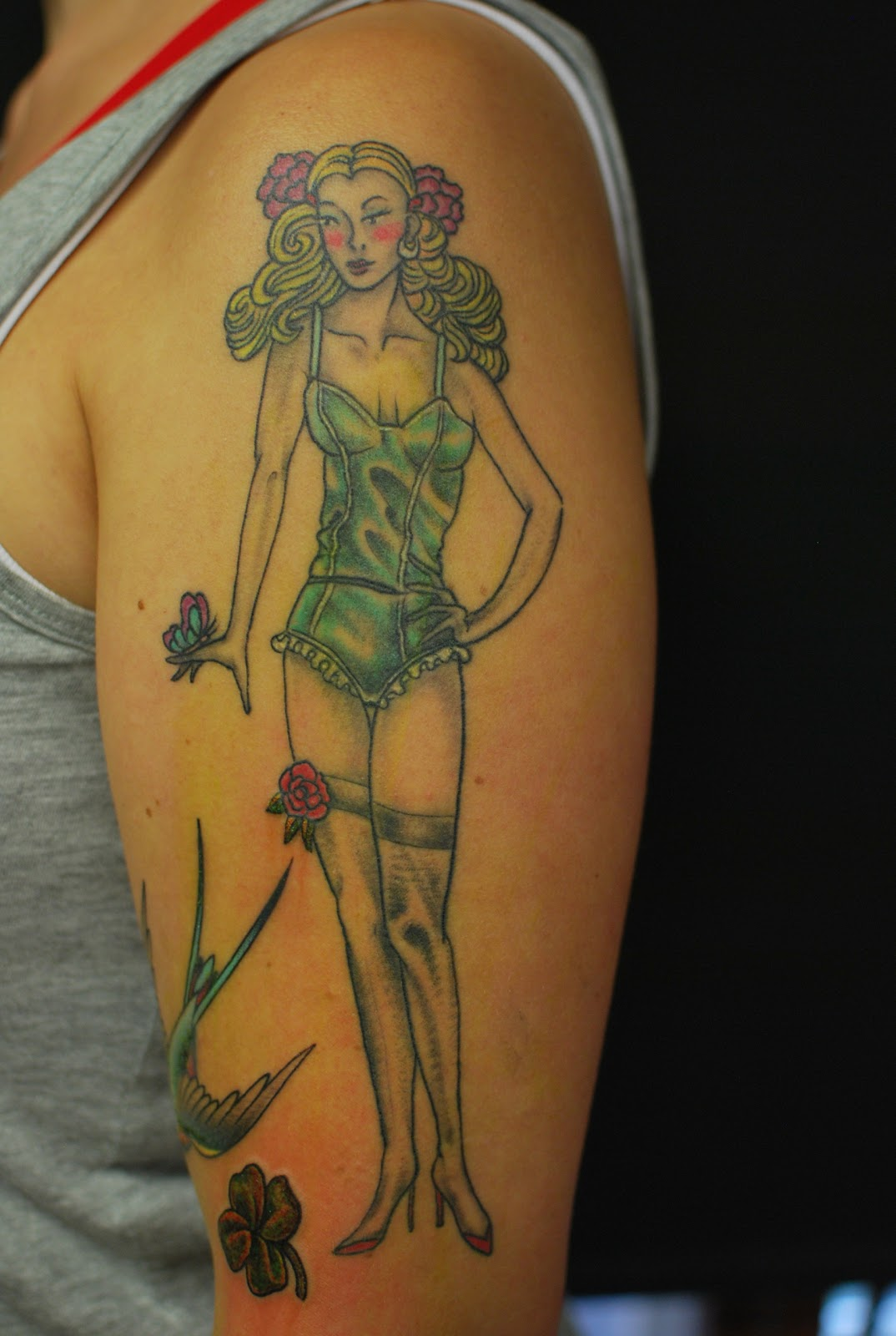 Tattoo pin up girls 6k pics - Tattooed pin up models ...
