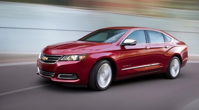 2016 Chevrolet Impala red