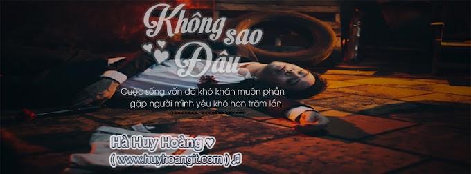 [Share] Psd ảnh bìa Không Sao Đâu - Trịnh Thăng Bình!