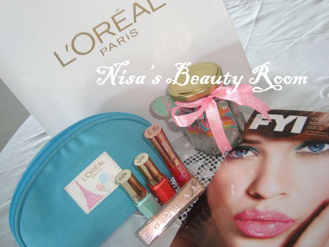 Sponsor Review : L'Oreal Paris Miss Candy