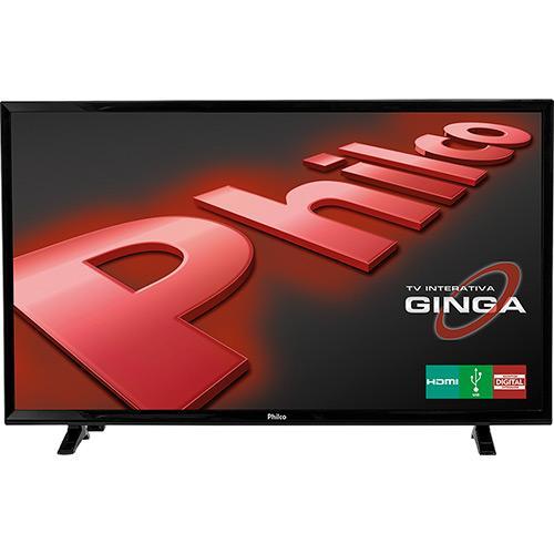 """TV LED 32"""" Philco HD com Conversor Digital HDMI USB Closed"""