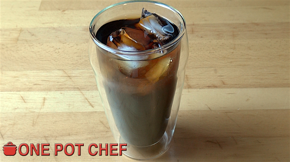 The One Pot Chef Show: Easy Cold Brewed Coffee | One Pot Chef