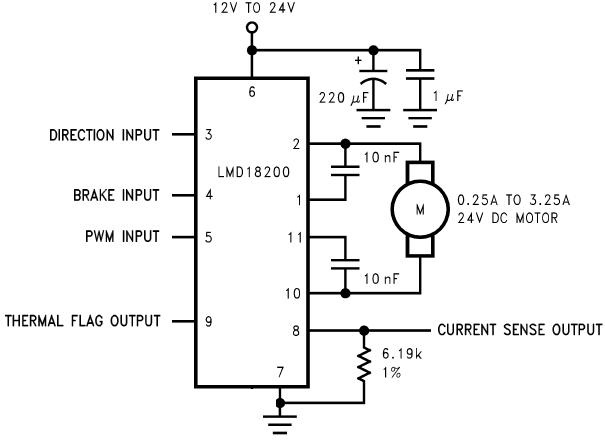 LMD18200 DATASHEET PDF