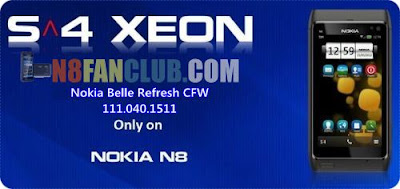 Xeon 3.5.1 Custom Firmware for Nokia N8