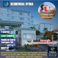 RESIDENCIAL HYDRA -VALE DAS ESTRELAS - MRV - CABRAL - CONTAGEM/MG !