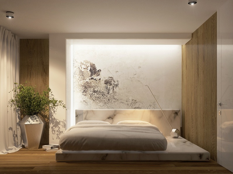 30 elegant wall decorating ideas behind the bed that will make your bedroom amazing decor units. Black Bedroom Furniture Sets. Home Design Ideas