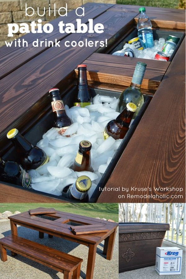 9 Build It Yourself Outdoor Furniture Ideas Diy Home