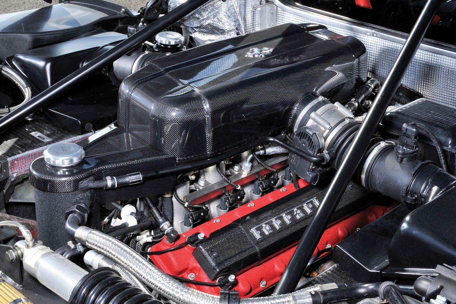Rebuilt Black Ferrari Enzo Sells For 175 Million At Auction
