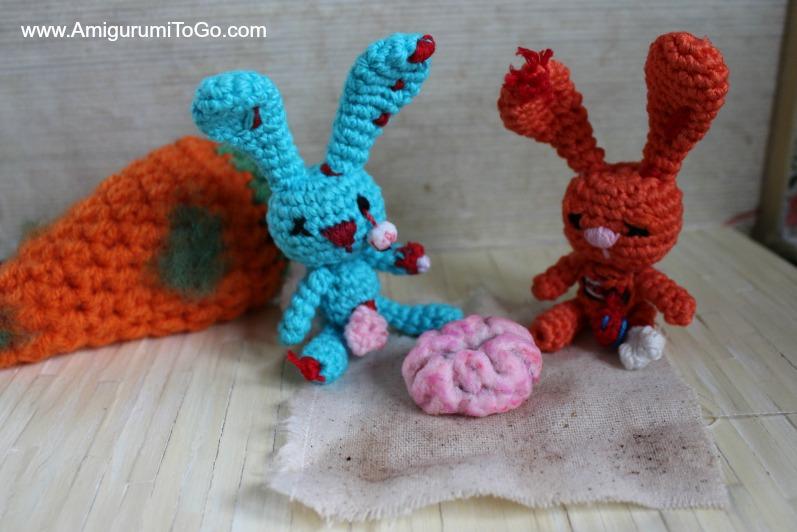PATTERN Zombie Santa Claus crochet pattern amigurumi | Etsy | 532x797