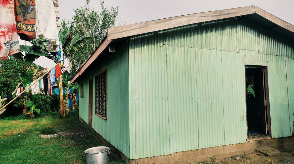 Catherine's home in Fiji