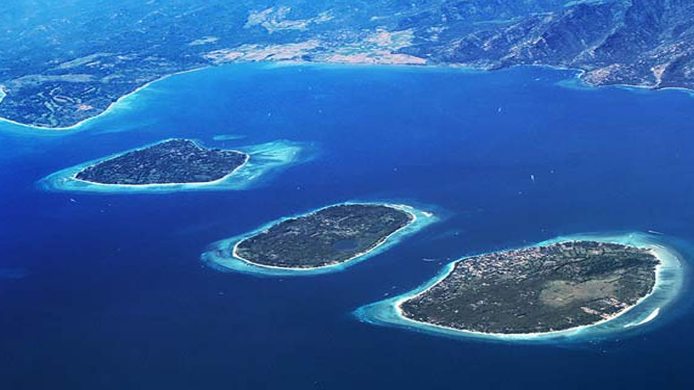 Best places to stay in bali - Gili islands