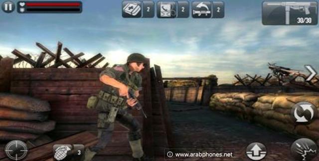 تحميل لعبة frontline commando للاندرويد مهكرة