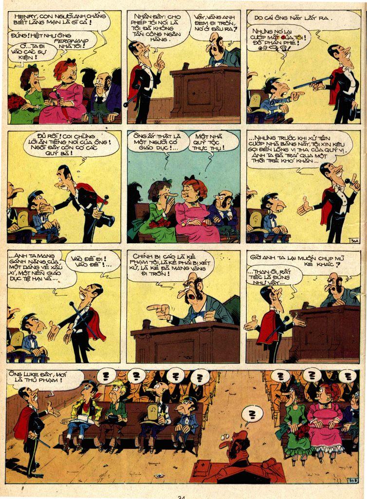 Lucky Luke tap 1 - ban tay nham trang 29