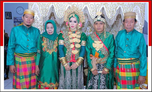 Gambar Pakaian adat pengantin Suku Bugis Sulawesi Selatan