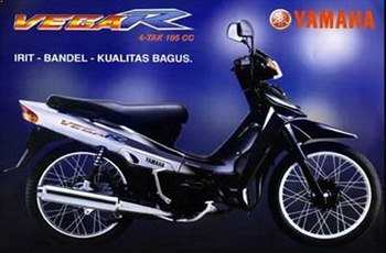 Sigesit Irit Motor Yamaha Vega R 105cc
