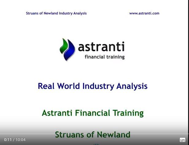 OCS November 2017 - Industry analysis November 2017 Struans - CIMA Operational case study