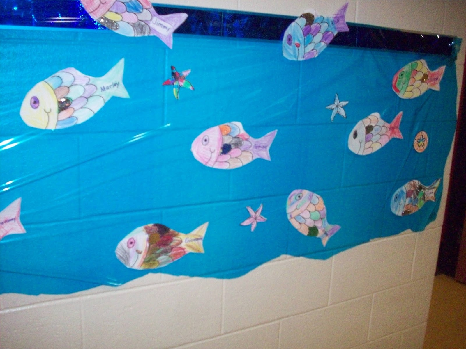Kinderblooms Kindergarten Sea Of Rainbow Fish