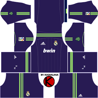 Real Madrid Kits 2012/2013 - Dream League Soccer