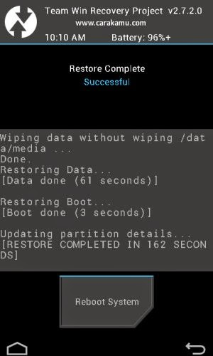 Proses Backup Firmware Samsung Galaxy S5 Active