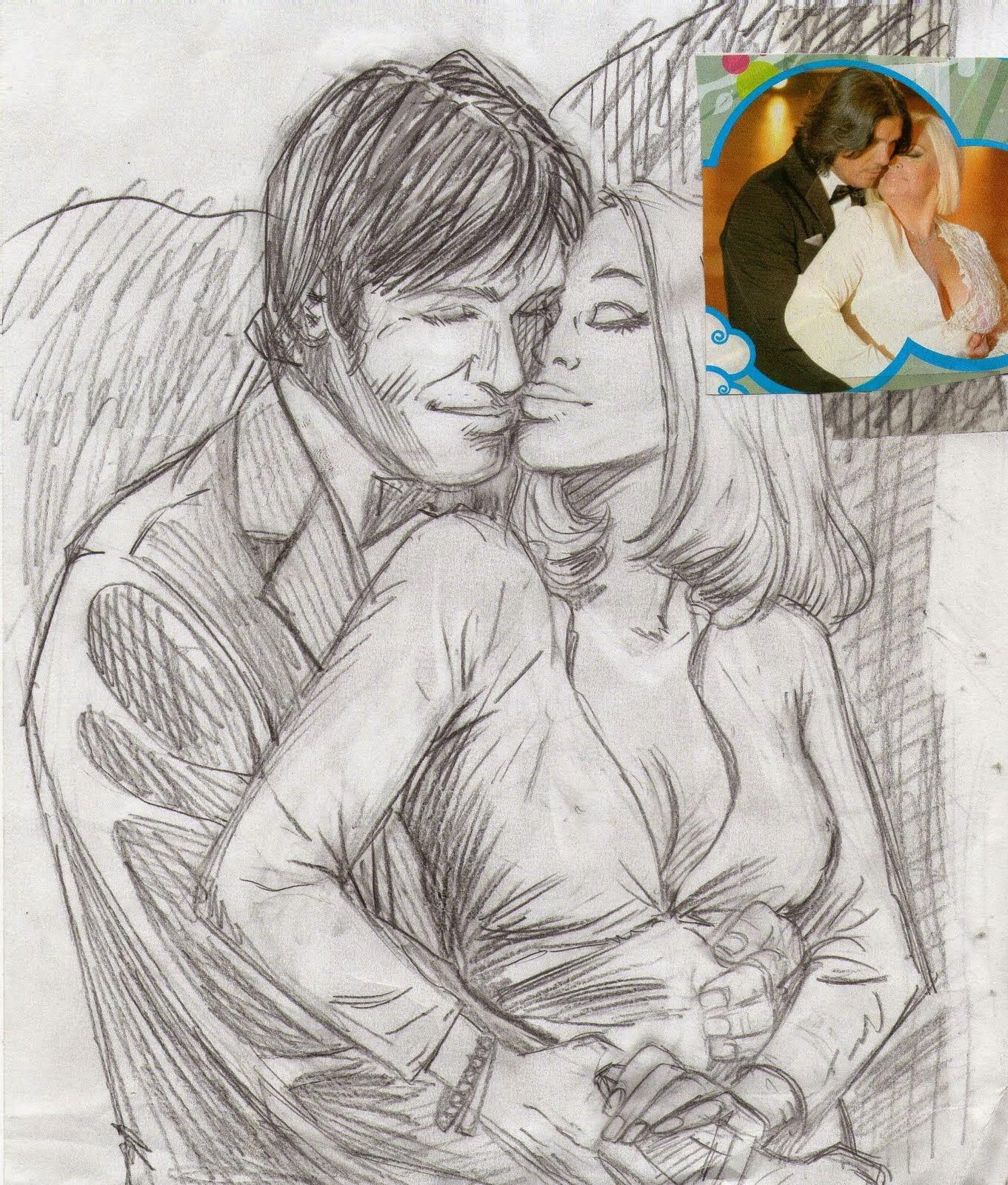 Dibujos Romanticos A Lapiz Imagenes De Amor Bonitas