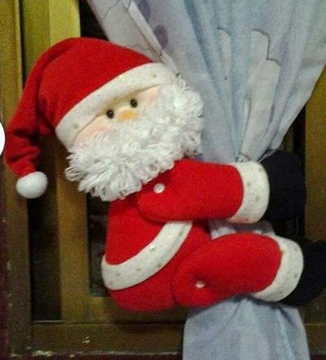 Cortinas De Baño La Polar:Sujeta cortinas navideño y porta toallas para la cocina ~ lodijoella