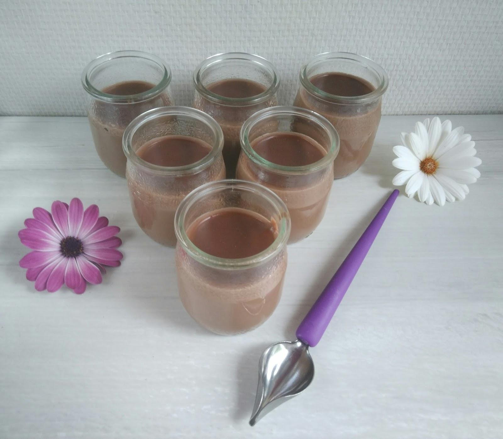 petits pots de cr me 39 39 nutella maison healthy. Black Bedroom Furniture Sets. Home Design Ideas