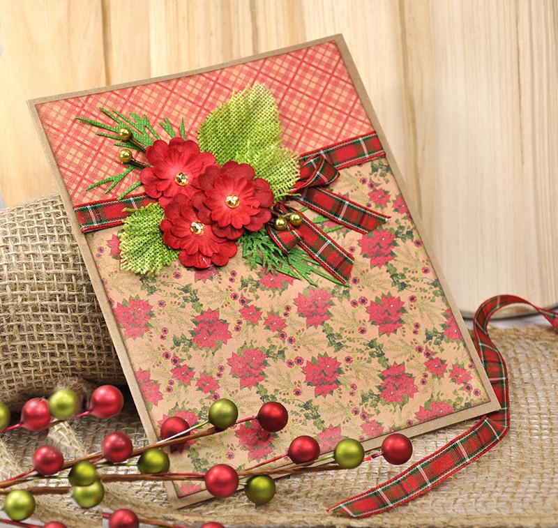 Scrap Escape DIY Christmas Cards Featuring Authentique PART 2