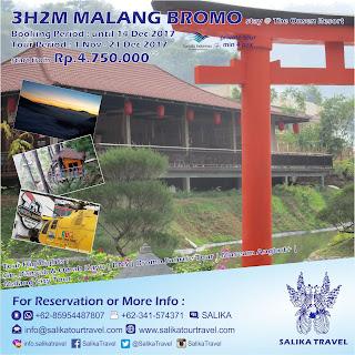 3H2M Malang Bromo Private Stay Onsen Resort - Salika Travel