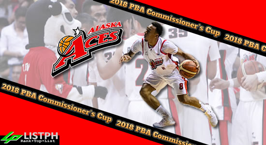 List of Alaska Aces Roster 2018 PBA Commissioner's Cup