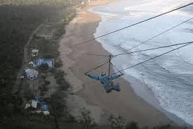 Flying Fox pantai taman pacitan