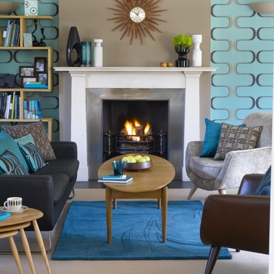 Living Room Sofa Two Chairs Indian Painting Ideas Vered Rosen Design Seating Arrangements Furniture Especially In Smaller Spaces Is That It Probably The Best Conversation Arrangement Everyone Facing Each Other And Don T Need To Twist
