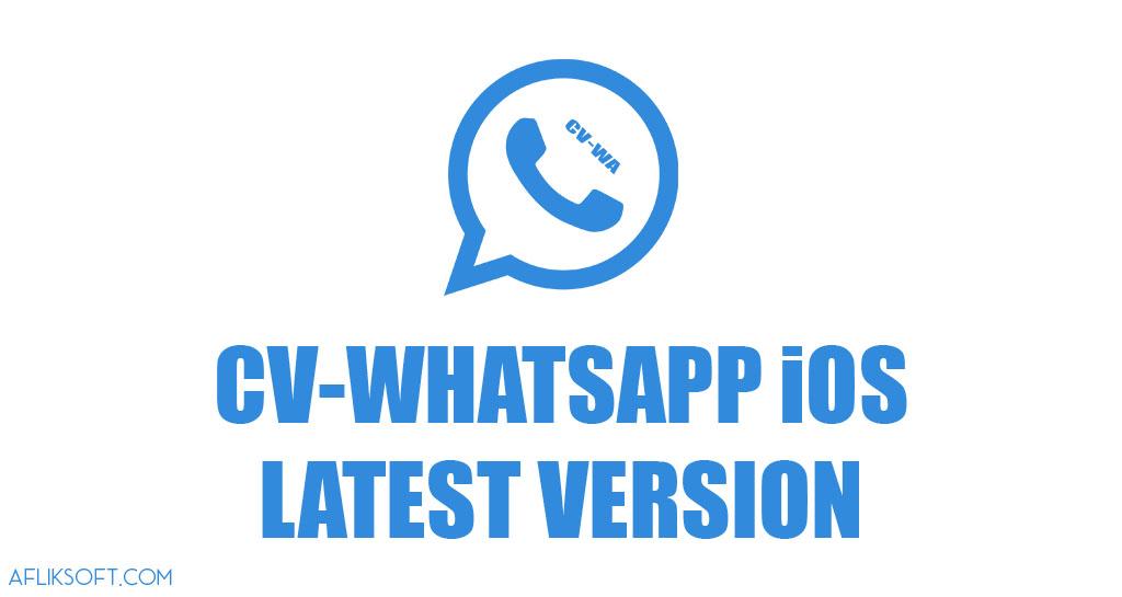 CV-WhatsApp iOS