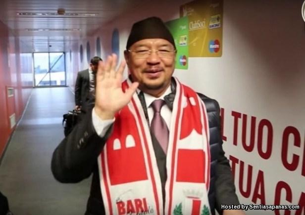 Jutawan Malaysia Pemilik FC Bari