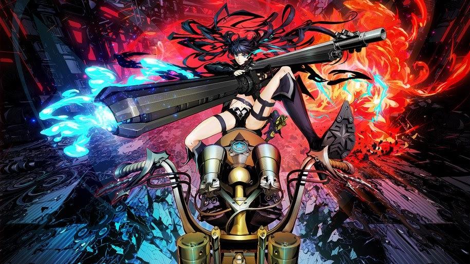 Anime, Girl, Sci-Fi, Black Rock Shooter, 4K, #217 Wallpaper