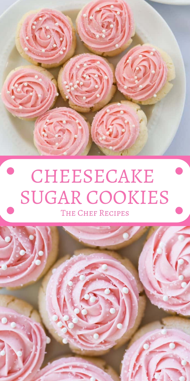 CHEESECAKE SUGAR COOKIES
