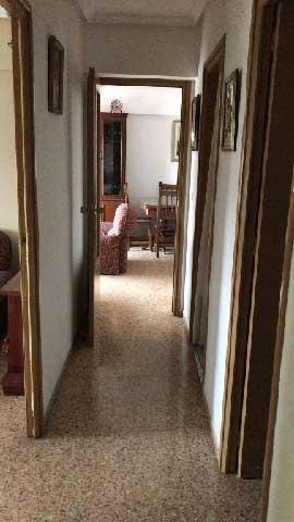 venta de piso av de la virgen del lidon castellon pasillo