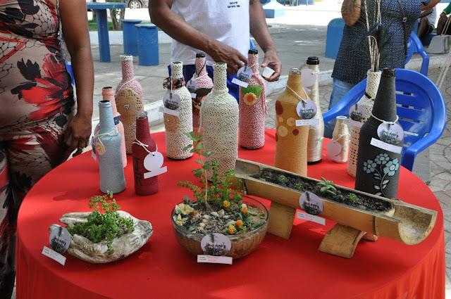 Barreiras: Feira Natalina expôs itens produzidos no Centro Pop
