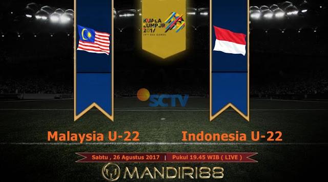 Prediksi Bola : Malaysia U-22 Vs Indonesia U-22 , Sabtu 26 Agustus 2017 Pukul 19.45 WIB @ SCTV