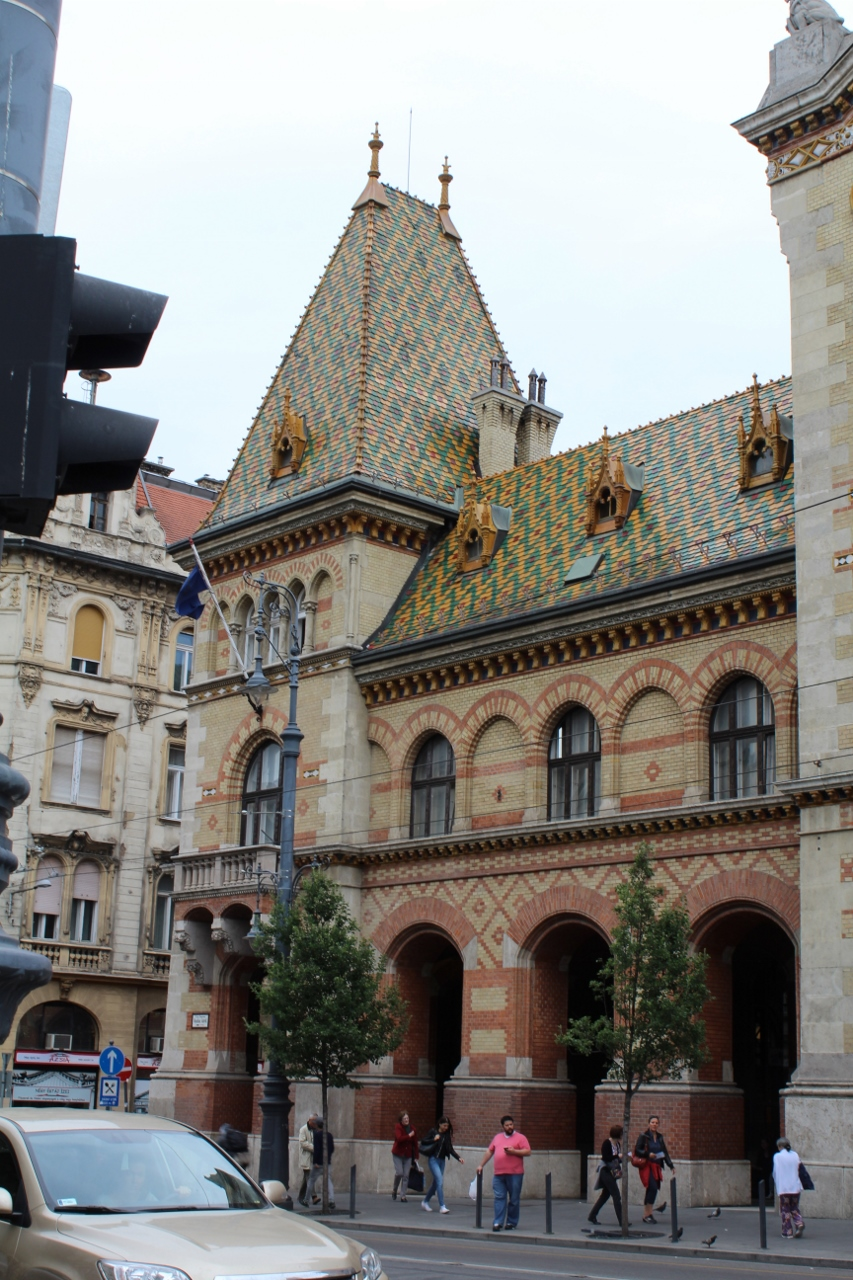 Budapest Central Market building