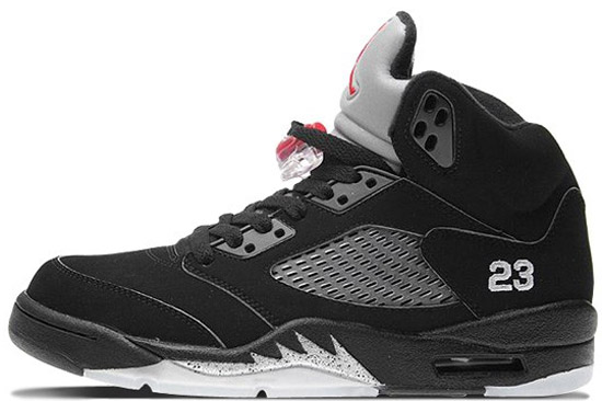 814b50ecc1c3ef Air Jordan 5 Retro Low Women s (01 25 2007) 314337-101 White Black-Metallic  Silver  120.00