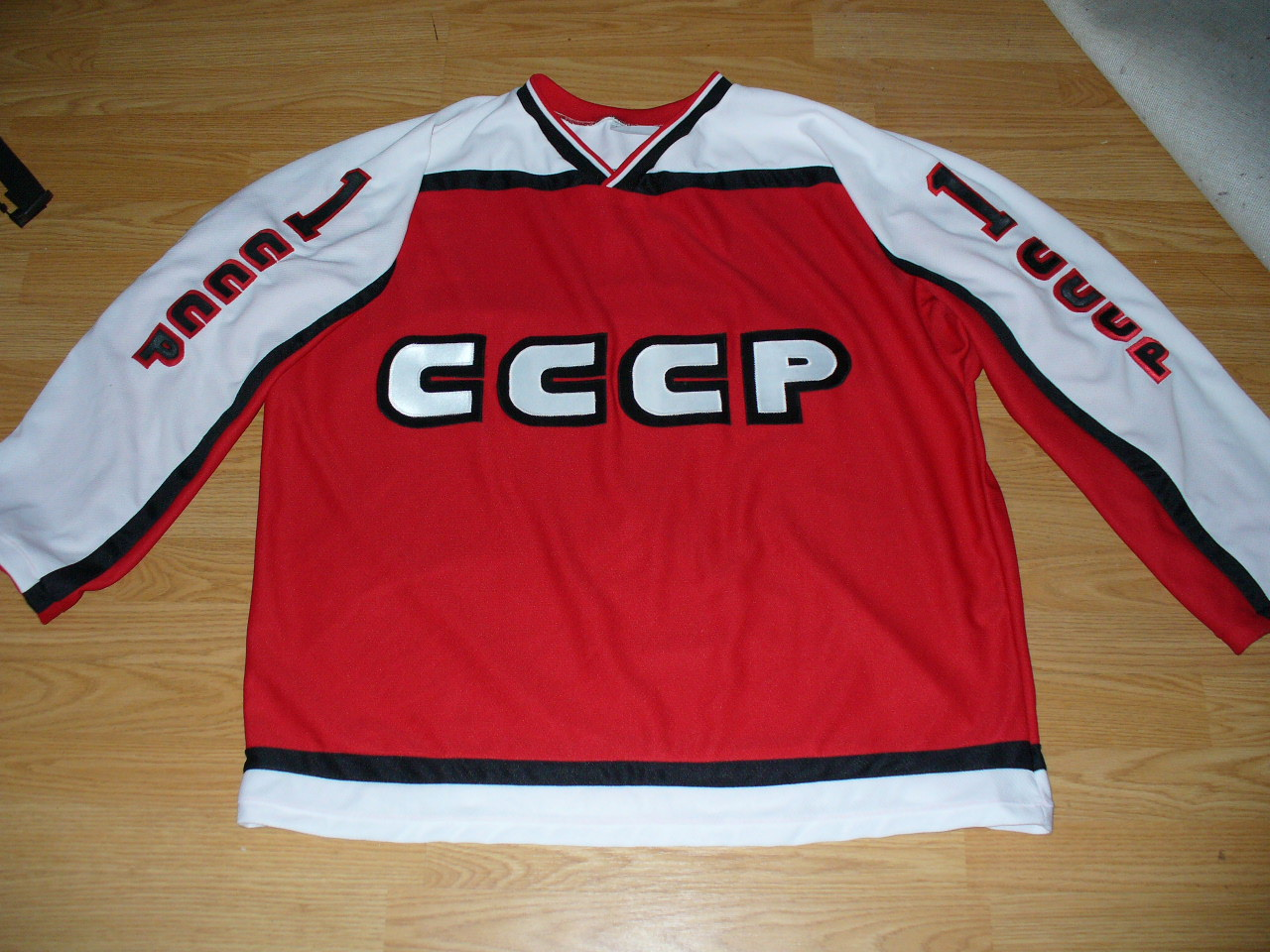HOCKEY JERSEYS DIY   OTHERWISE (plus more)  Soviet and Canada goal ... a283e88001b