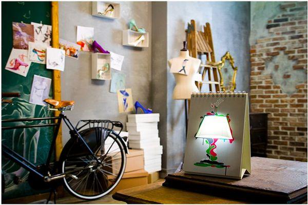 Creative Table Lamp Design
